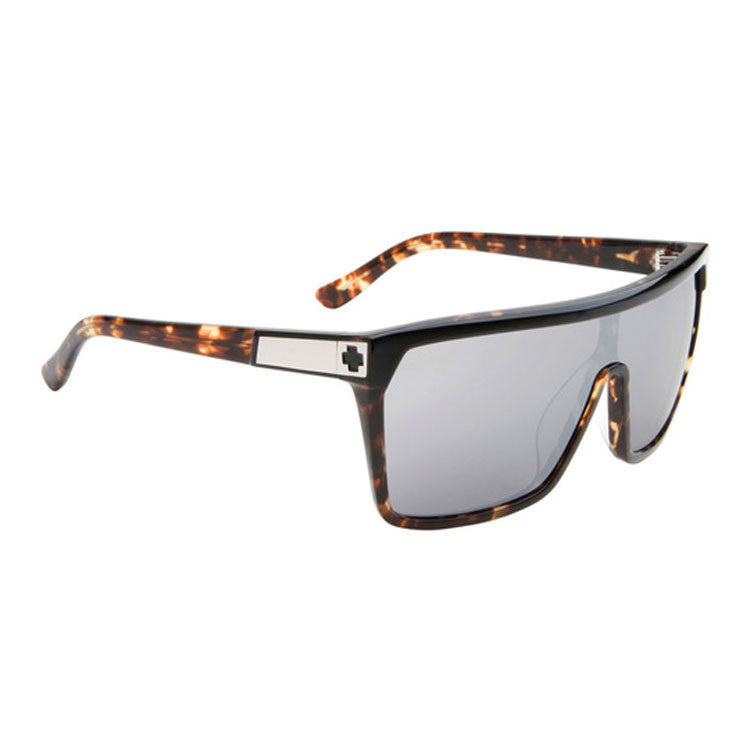 Spy Flynn - Black Tortoise Frame - Grey / Black Mirror Lens - Sunglasses