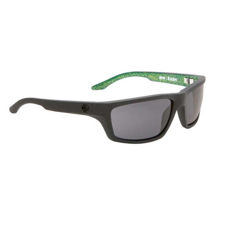 Spy Kash - RSD Matte Black Frame - Green / Grey Lens - Sunglasses