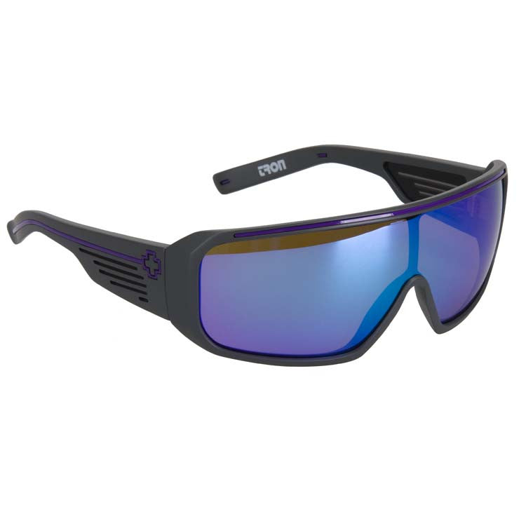 Spy Tron - Black Ice/Purple Spect - Men's Sunglasses