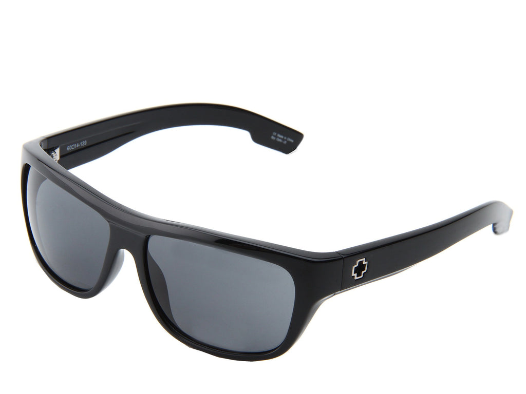 Spy Lennox - Shiny Black Frame - Grey Lens - Sunglasses