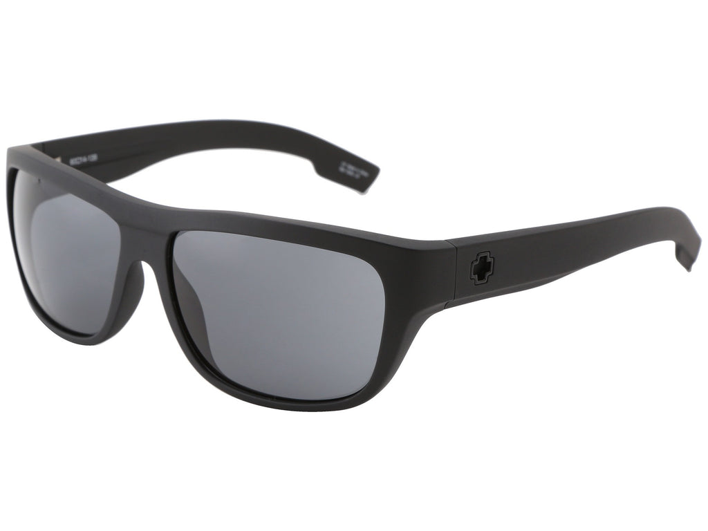 Spy Lennox - Matte Black Frame - Grey Lens - Sunglasses