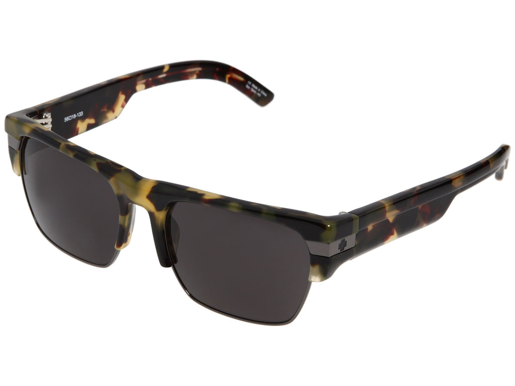 Spy Mayson - Yellow Tort/Black Frame - Bronze Lens - Sunglasses