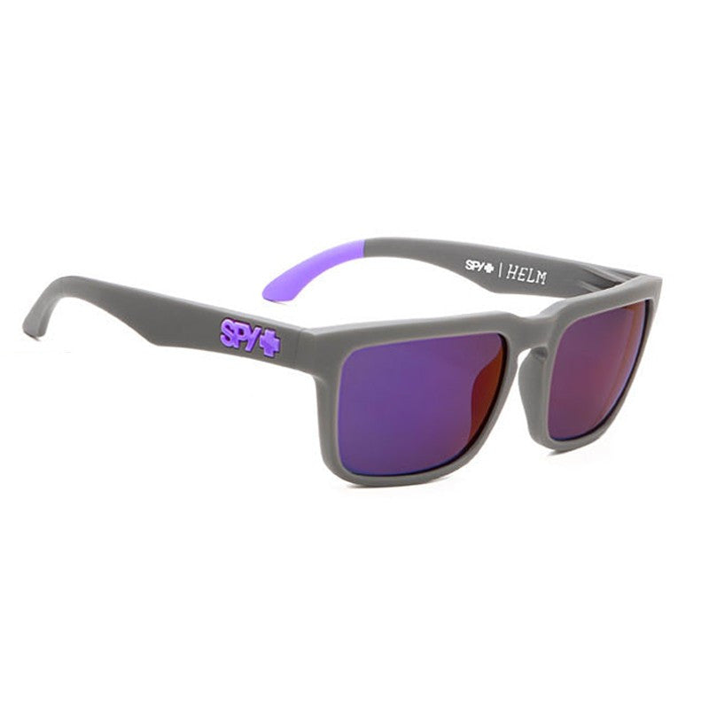 Spy Helm - Primer Grey Frame - Purple Lens - Sunglasses