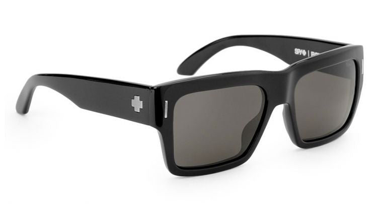 Spy Bowery - Black Frame - Grey Lens - Sunglasses