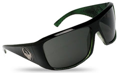 Dragon Calavera - Green Streak Frame / Grey Lens - Sunglasses