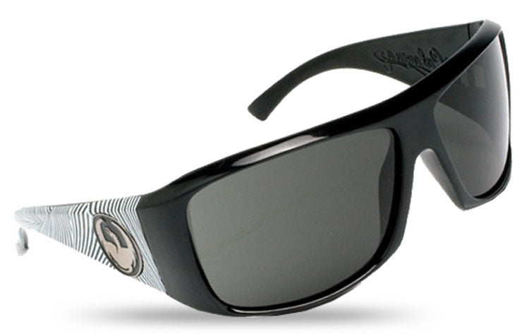 Dragon Calavera - Jet Matic Frame / Grey Lens - Sunglasses