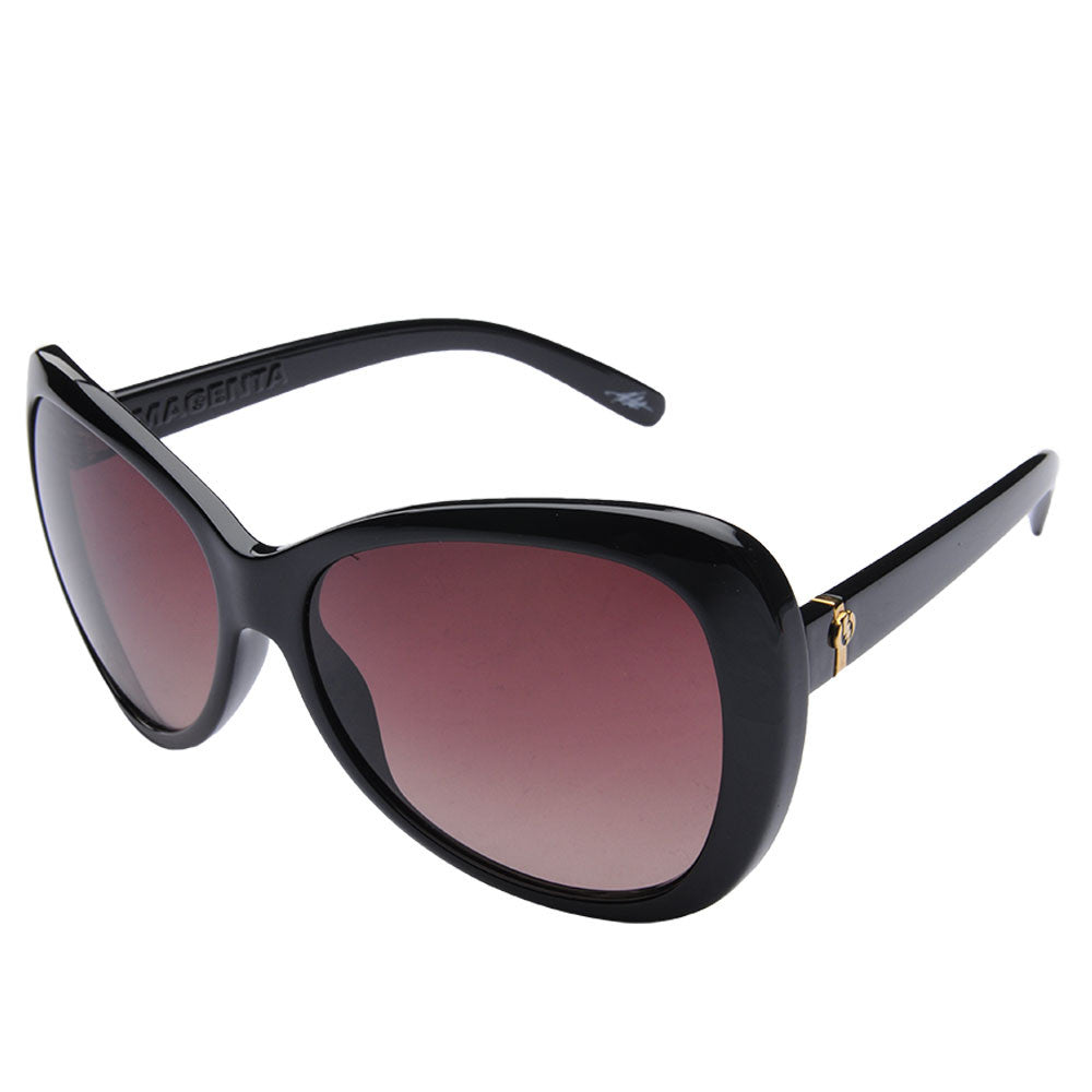 Electric Visual Magenta - Black - Womens Sunglasses