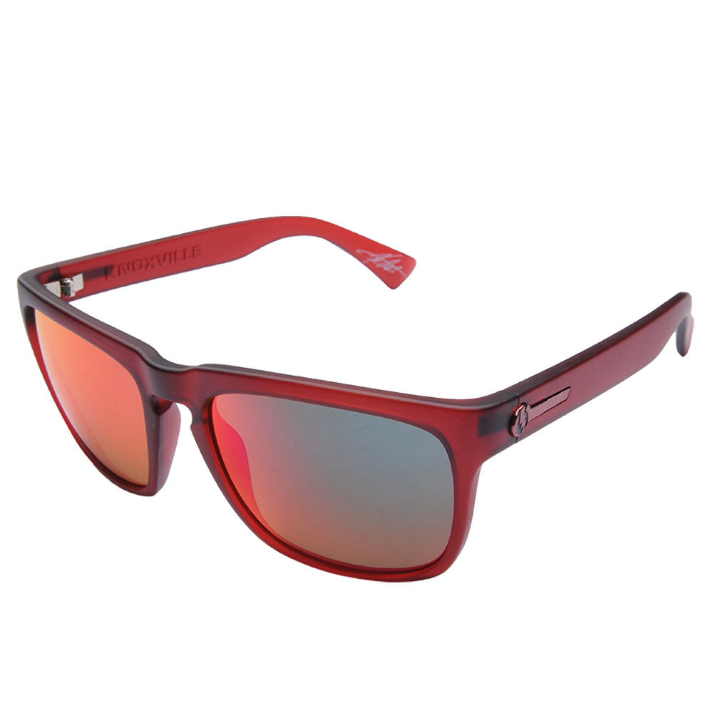 Electric Visual Knoxville - Red - Mens Sunglasses