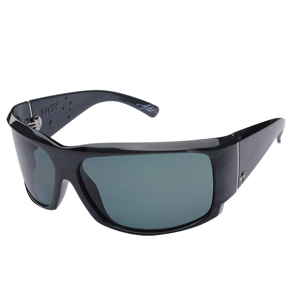 Electric Visual Hoy - Charcoal Stripe/Grey - Mens Sunglasses
