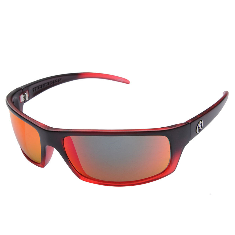 Electric Visual Technician - Red - Mens Sunglasses