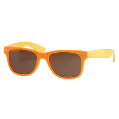 Chocolate Chunk Basic Shades - Orange - Sunglasses