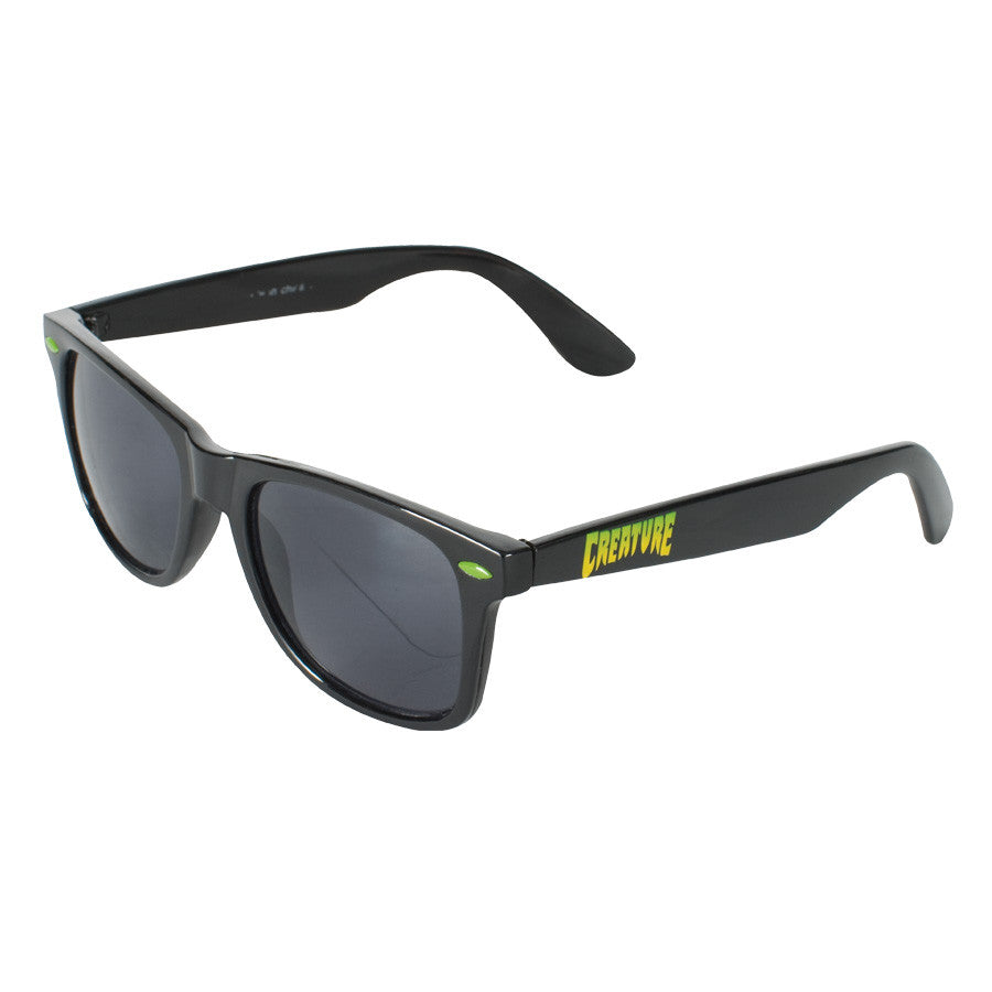 Creature Logo - Black - One Size - Sunglasses