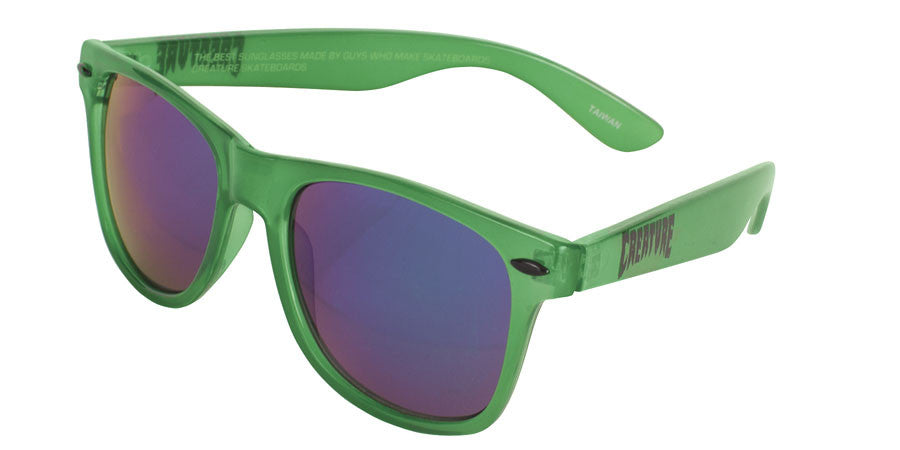 Creature Trannies Translucent - OS Unisesx - Green - Sunglasses