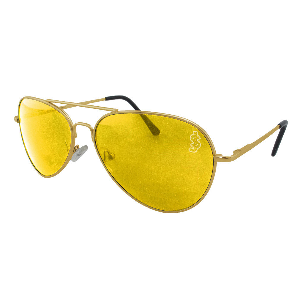 Shake Junt Hunter - Gold - Sunglasses