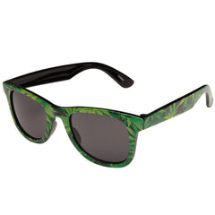 Nor Cal Humboldt Wayfarer O/S - Green Leaf - Sunglasses