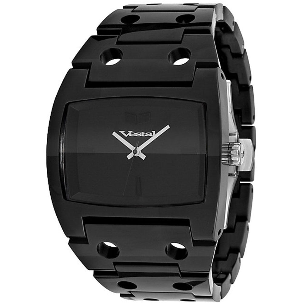 Vestal Destroyer Plastic - Black - Mens Watch