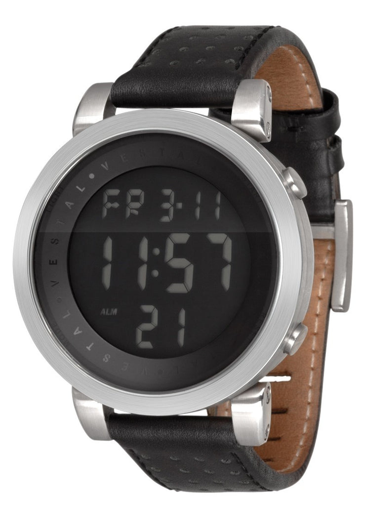 Vestal Digital Doppler - Black - Mens Watch