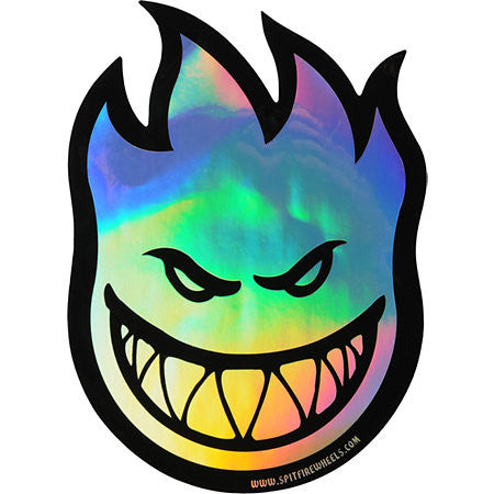 Spitfire Fireball Prism Large - Sticker