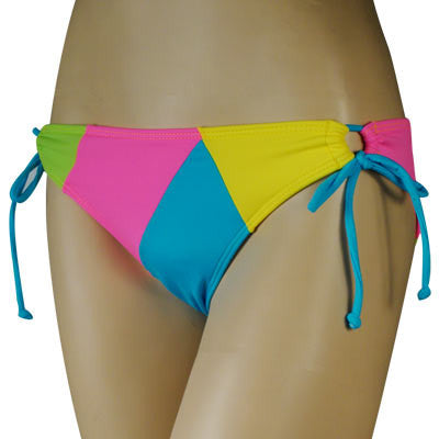 Roxy Ladies Swimwear Extra Low Tie Multi - Women's Swimwear - Large