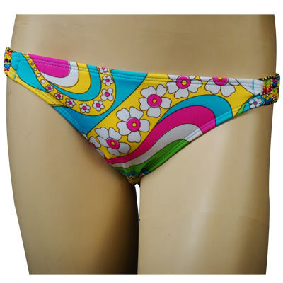 Roxy Ladies Swimwear Scooter Pant Multi - Women's Swimwear