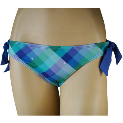 Hurley Ladies Swimwear Kings Rd Hipster w/Ties Pur - Women's Swimwear