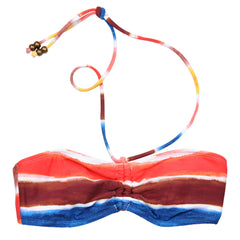 Quiksilver Dawn Patrol It's a Cinch Bandeau - Multi - Womens Swimwear