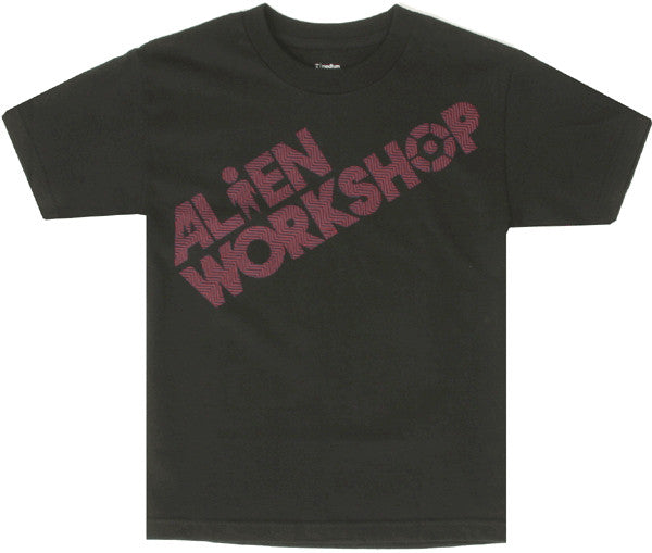 Alien Workshop Filmworks Trip Youth Short Sleeve - Black - Youth T-Shirt