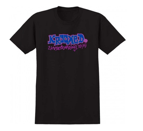Krooked 1979 S/S - Black - Men's T-Shirt