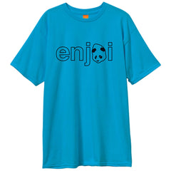 Enjoi Headvetica S/S - Turquoise - Men's T-Shirt