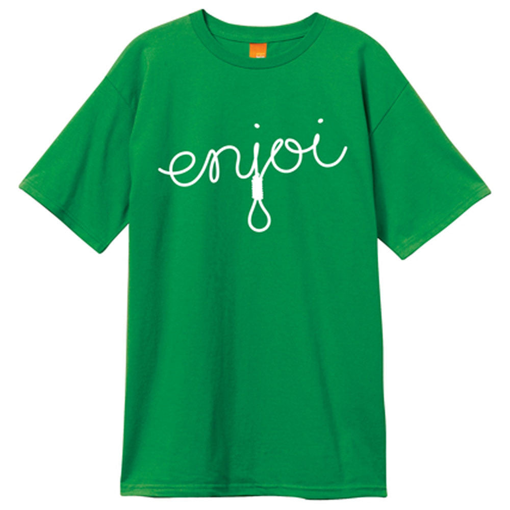 Enjoi Script S/S - Kelly Green - Men's T-Shirt