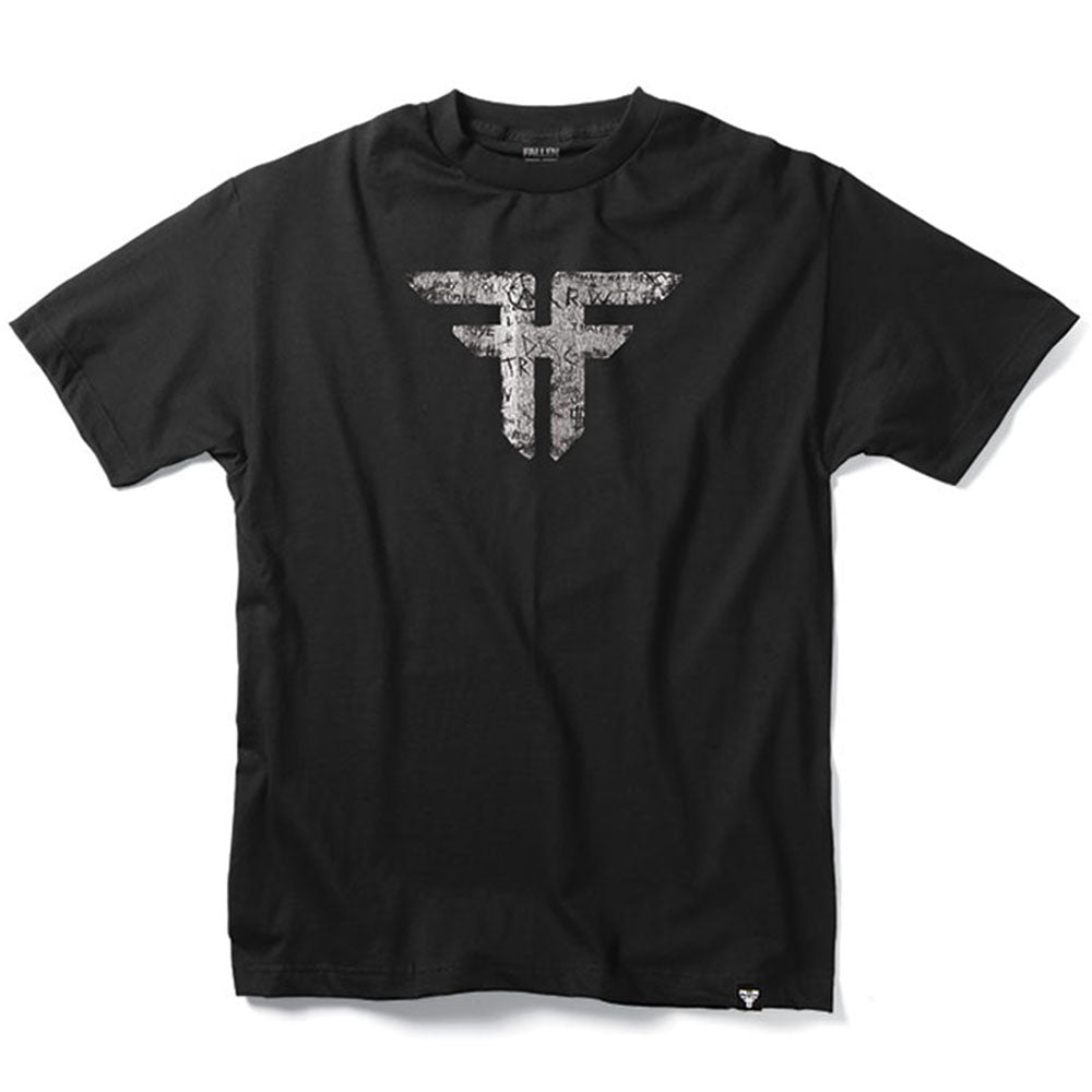 Fallen Trademark S/S - Black/Vandal - Men's T-Shirt