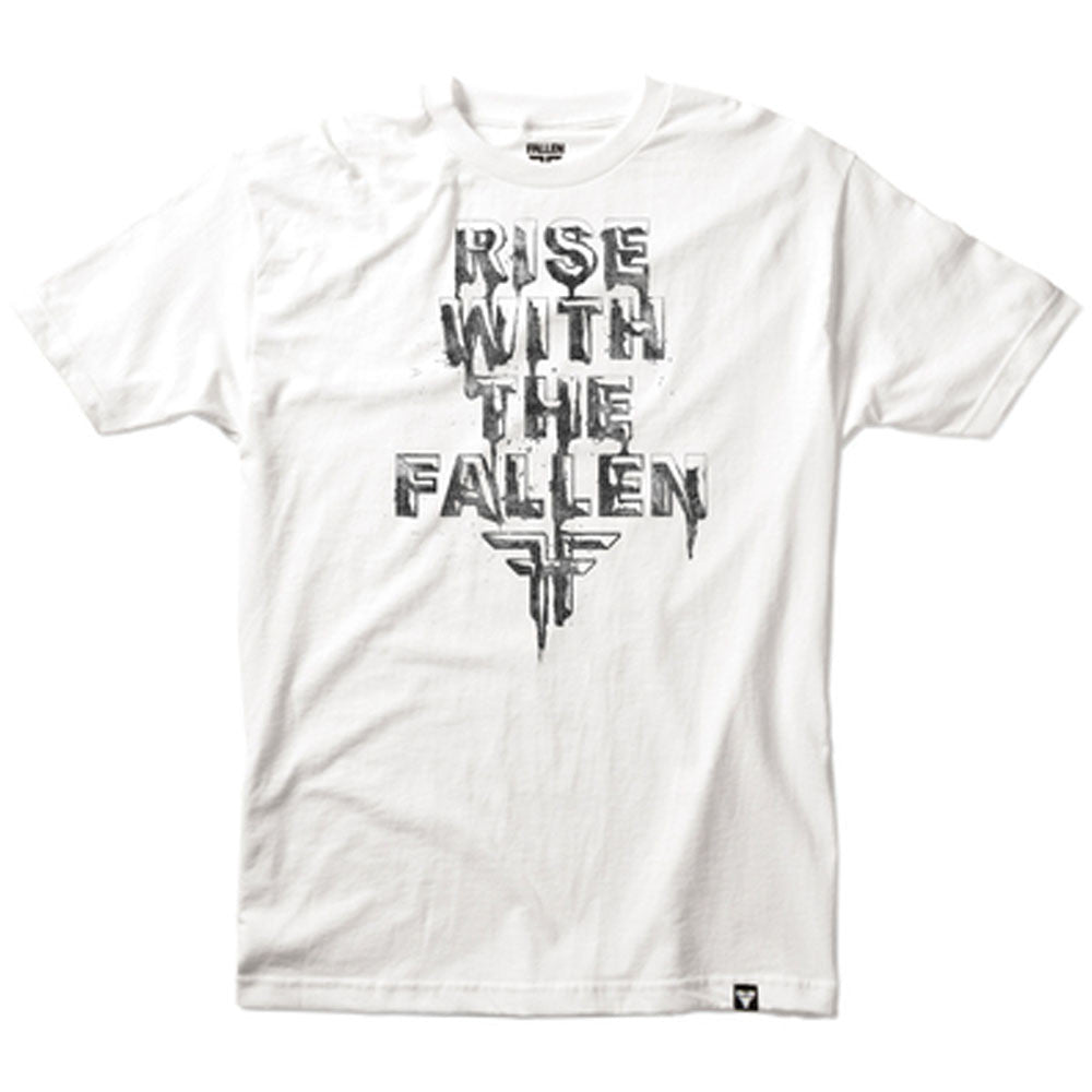 Fallen Bad Blood S/S - White/Black - Men's T-Shirt