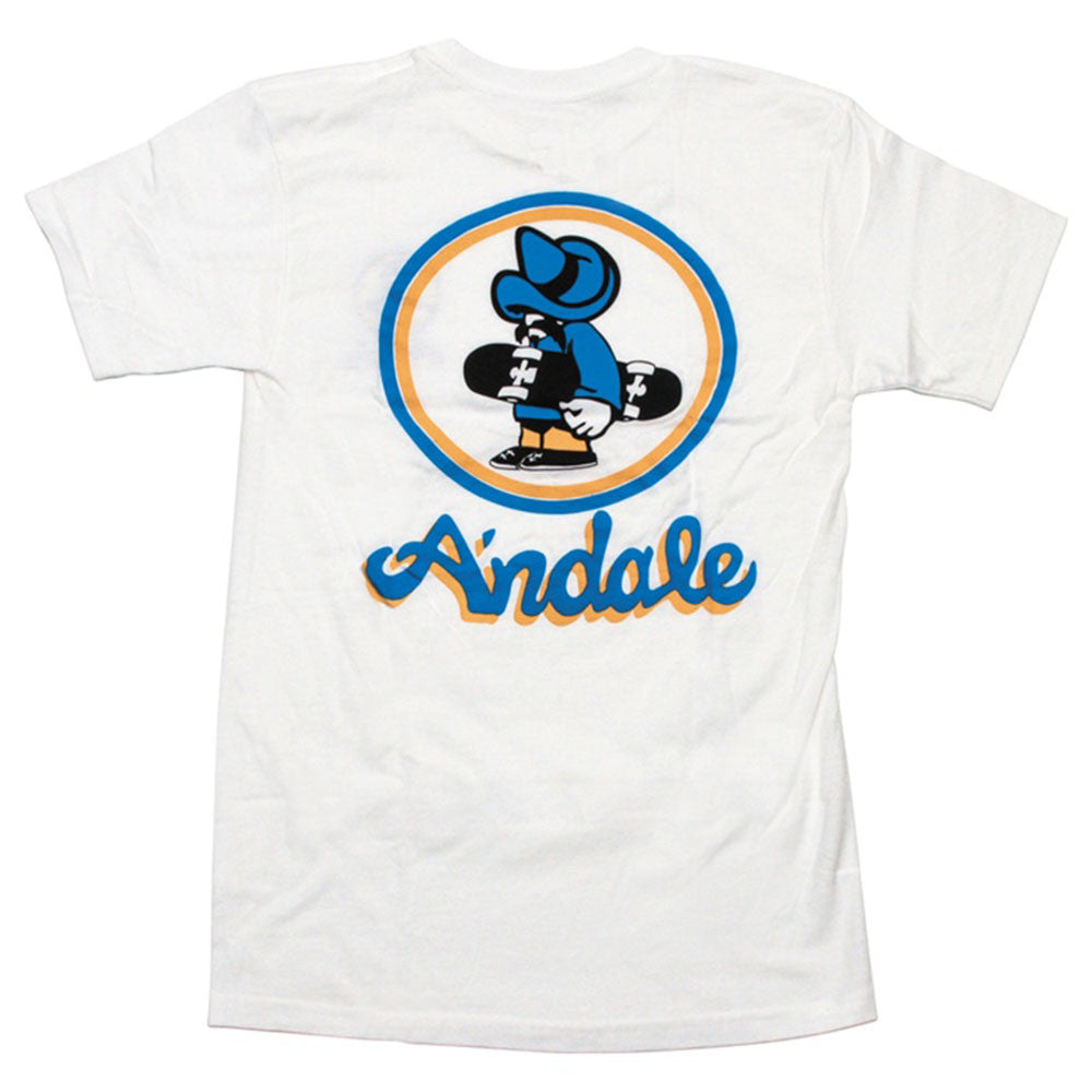 Andale OG S/S - White - Men's T-Shirt