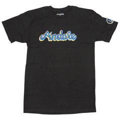 Andale Script S/S - Black - Men's T-Shirt