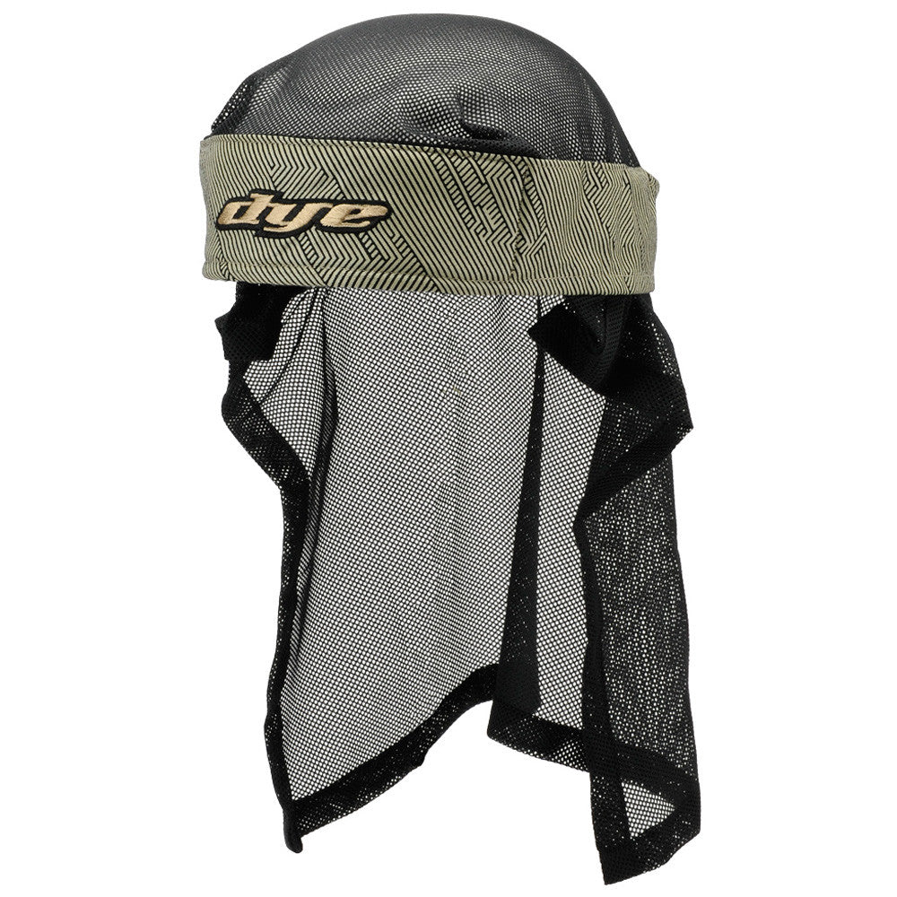 2011 Dye Hypnotic Head Wrap - Black/Tan