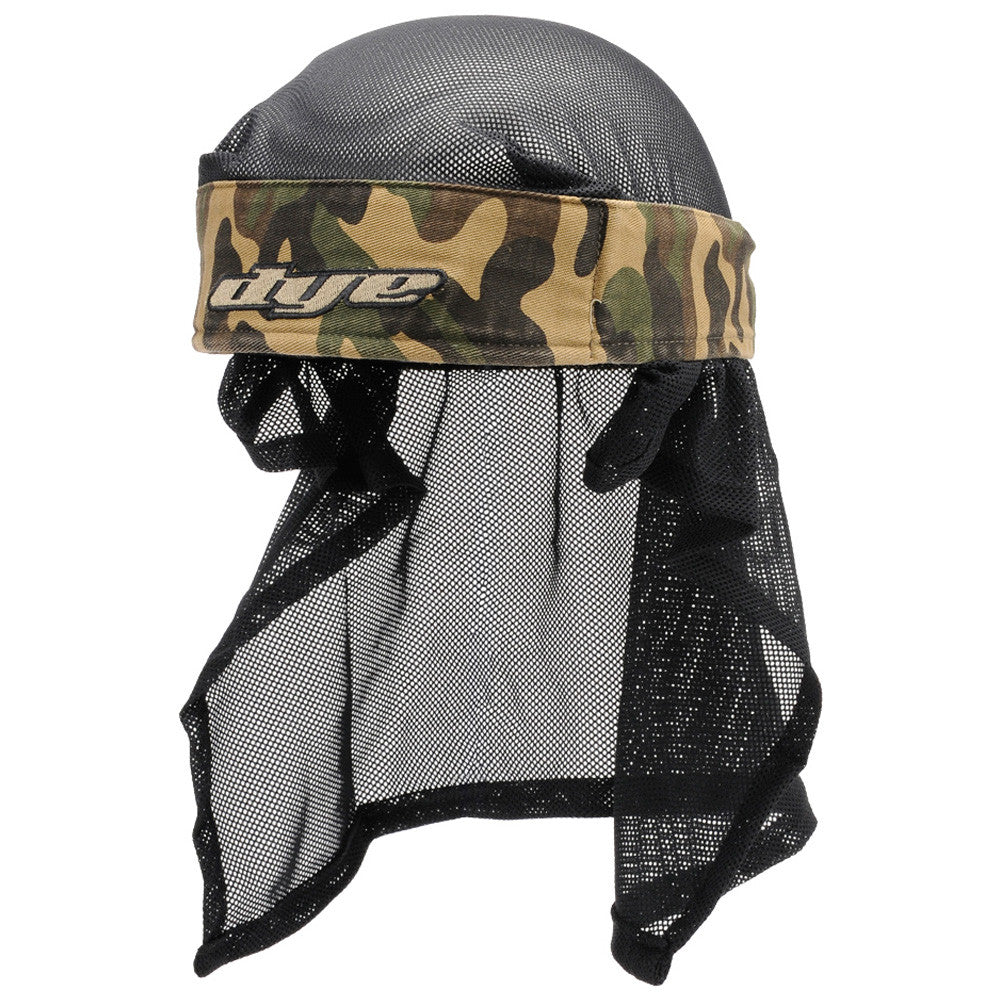 Dye 2007 07 Head Wrap Doo Rag - Woodland Camo
