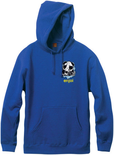 Enjoi Panda Ripper P/O Hooded - Royal Blue - Men's Sweatshirt