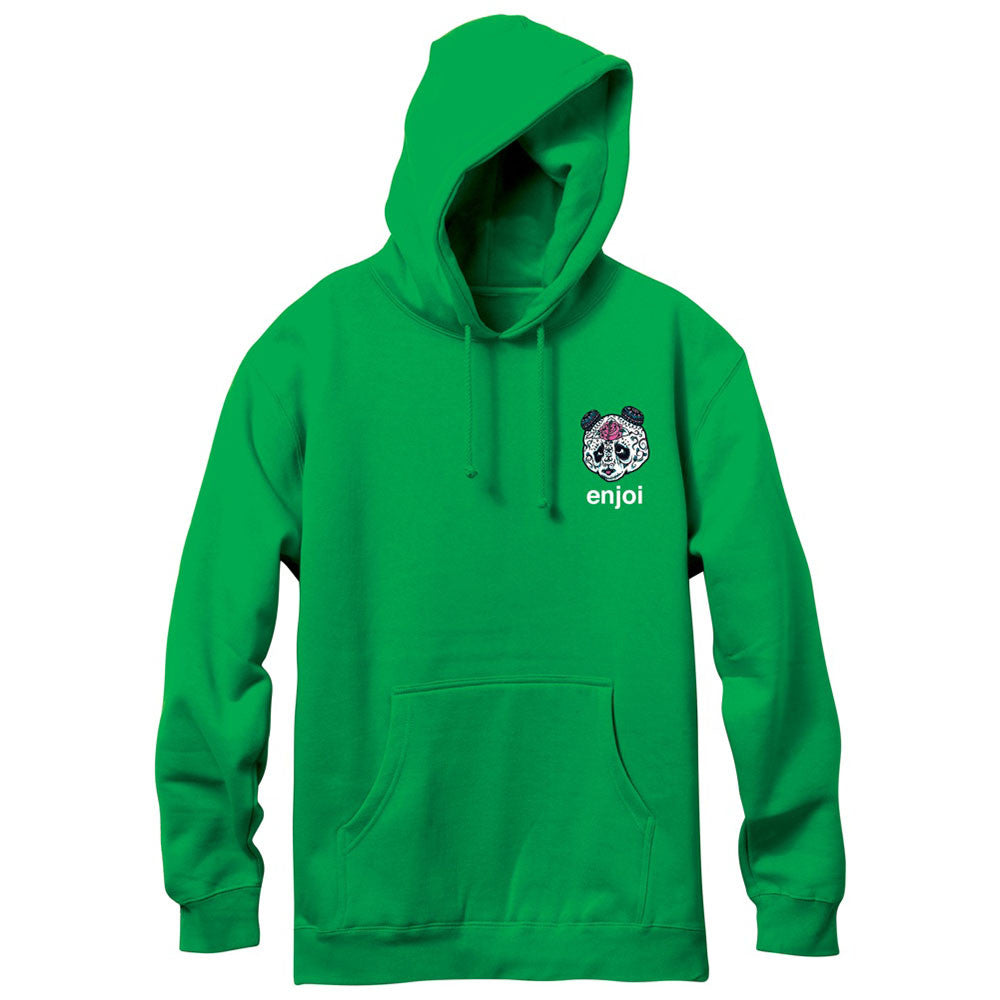 Enjoi Quinceanera Hooded Pullover - Green - Men's Sweatshirt