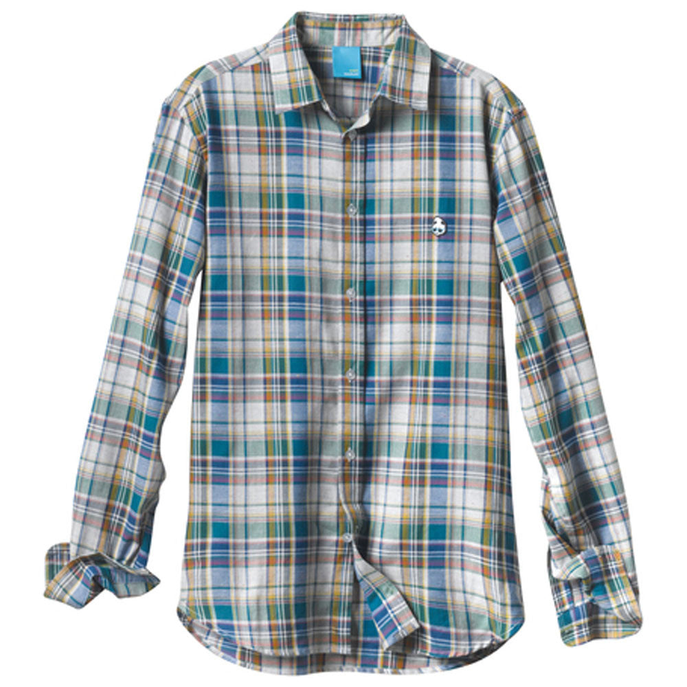 Enjoi The Rad Plaid L/S - Multi - Men's Collared Shirt