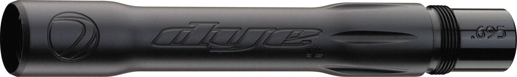 Dye Ultralite Paintball Barrel Back - Autococker .695 - Dust Black