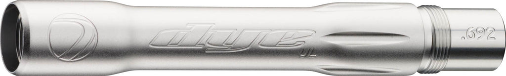 Dye Ultralite Paintball Barrel Back- Autococker .684 Dust Silver