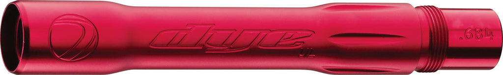 Dye Ultralite Paintball Barrel Back- Autococker .688 Dust Red