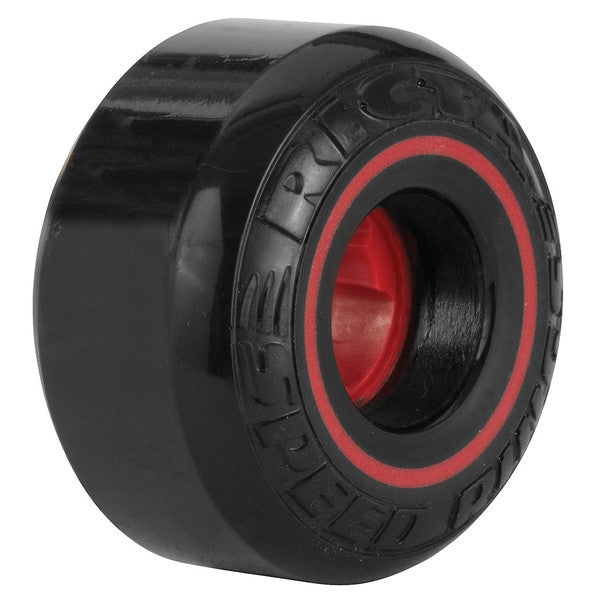 Ricta Speedrings - Black - 52mm 81b - Skateboard Wheels (Set of 4)