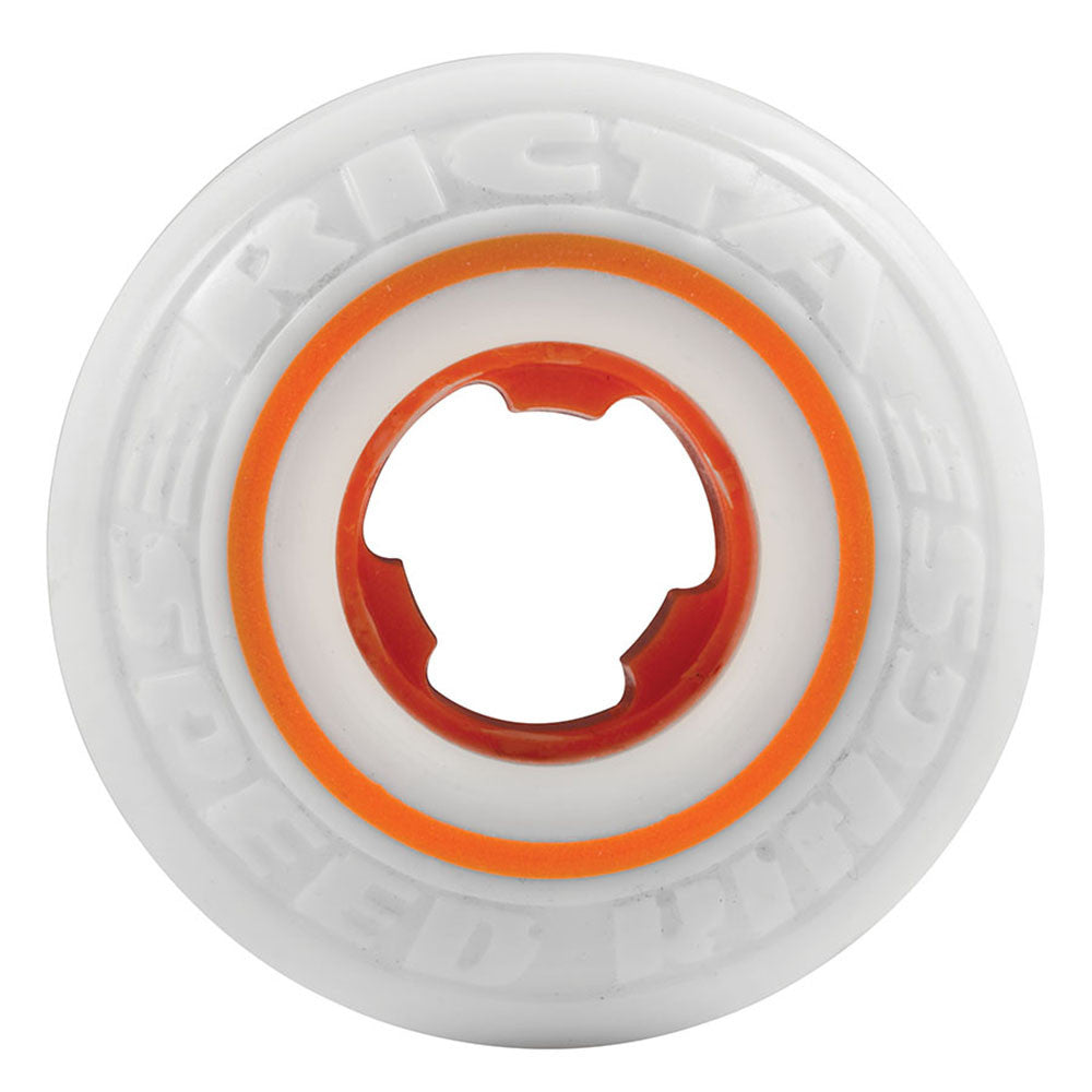 Ricta Tom Asta Pro Speedrings - White/Orange - 51mm 81b - Skateboard Wheels (Set of 4)