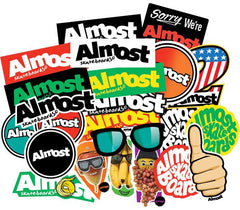 Almost Bar Logo 25 Pack - Stickers