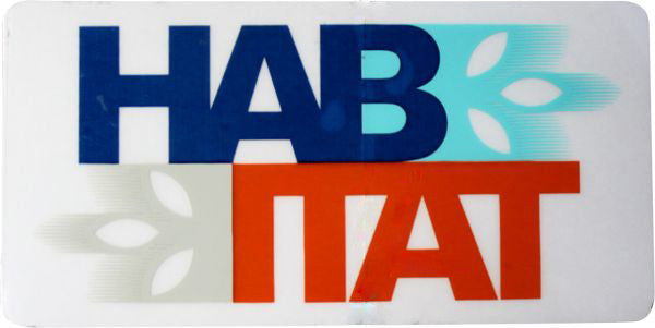 Habitat Directional - Sticker