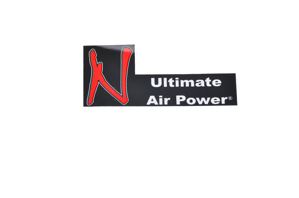 Ninja Ultimate Air Power Sticker - Black