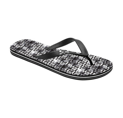 DC Cosmo Graffik Sandals - Black - Mens Skateboard Shoes