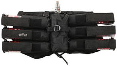 Gen X Global 6+1 Horizontal Paintball Harness - Black