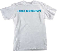 Alien Workshop Parenthesis Short Sleeve - White - Men's T-Shirt